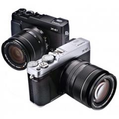 Fujifilm X-E1 kit (18-55mm f/2.8-4 XF) Black