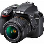 Nikon D3300 kit (18-55mm VR) AF-P Black