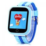 SmartWatch TD-02 (Q100) GPS-Tracking Wifi Watch Blue